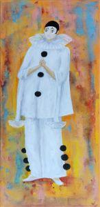 Pierrot Decadence In Love 70x30 art