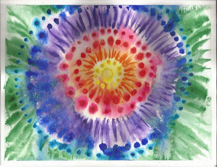 Magical Mandala - Artistic Aura by Laura