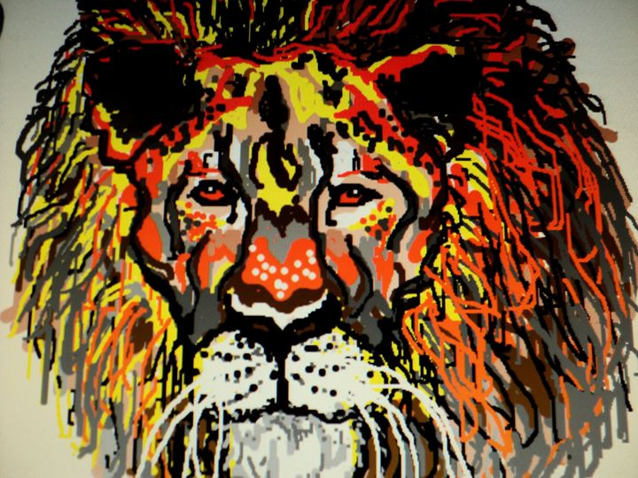 The Lion - partha pratim ghosh  partha's