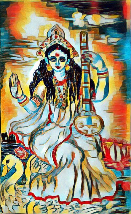 Saraswati - partha pratim ghosh  partha's