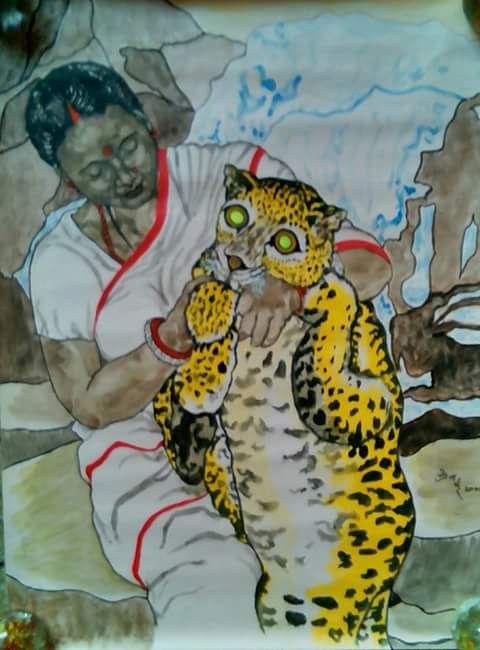 Mother's Love - partha pratim ghosh  partha's