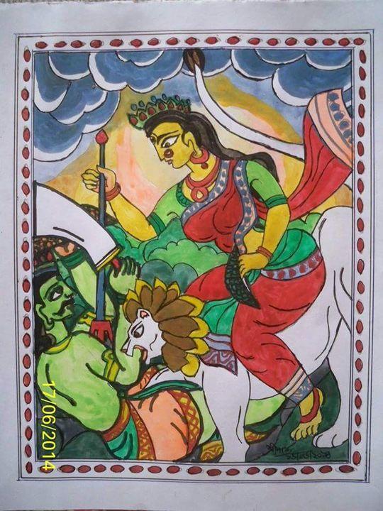 Goddess Durga - partha pratim ghosh  partha's