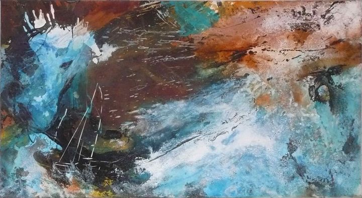 Beaufort Force 11 / Windstärke 11 - Art by Anja Stemmer
