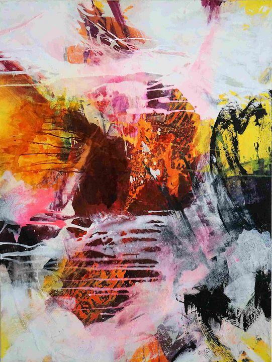 Confluences III - Art by Anja Stemmer