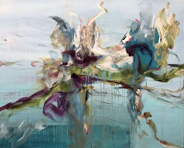 Water Hyacinth - Art by Anja Stemmer