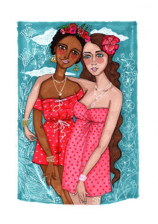 best friends - Mademoiselle Samantha