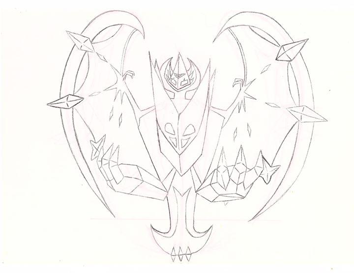 Necrozama Dawn Wings, Pokemon - DJHamster
