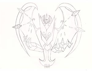 Necrozama Dawn Wings, Pokemon