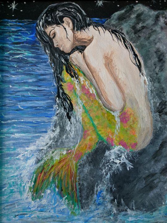 Midnight Mermaid - Carolyne J Wilkie