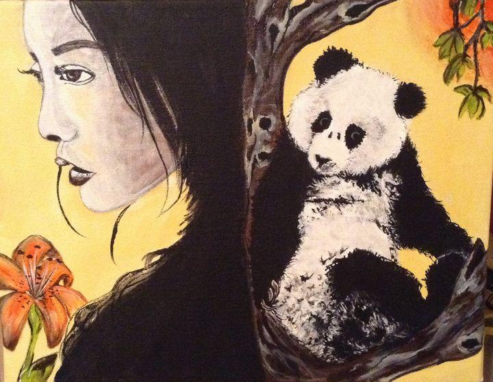 Panda girl - Carolyne J Wilkie