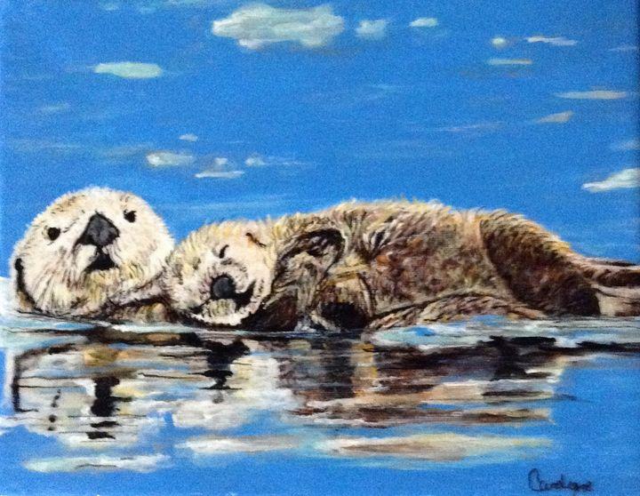 Otters - Carolyne J Wilkie