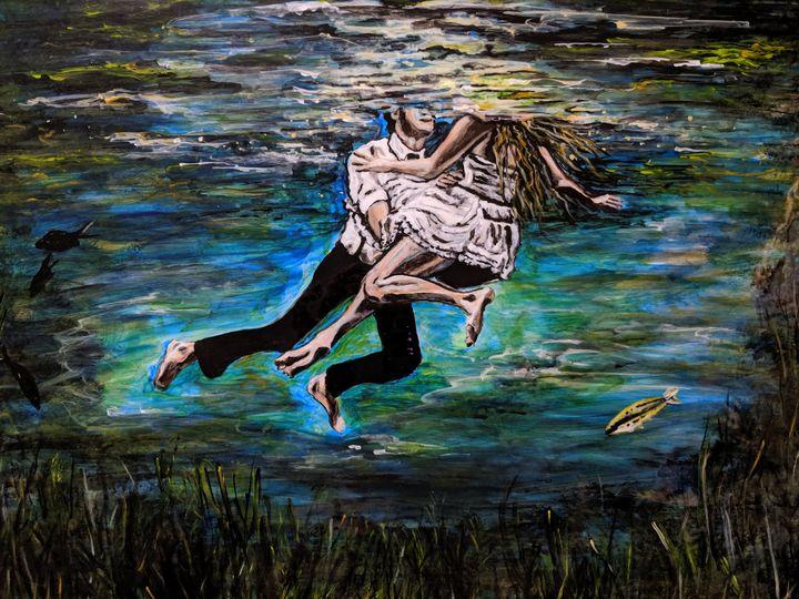 Lovers in the Lake - Carolyne J Wilkie