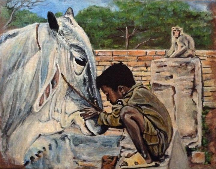 Love of Animals - Carolyne J Wilkie
