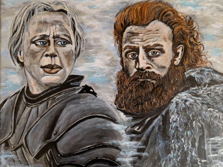 Brienne & Tormund - Carolyne J Wilkie