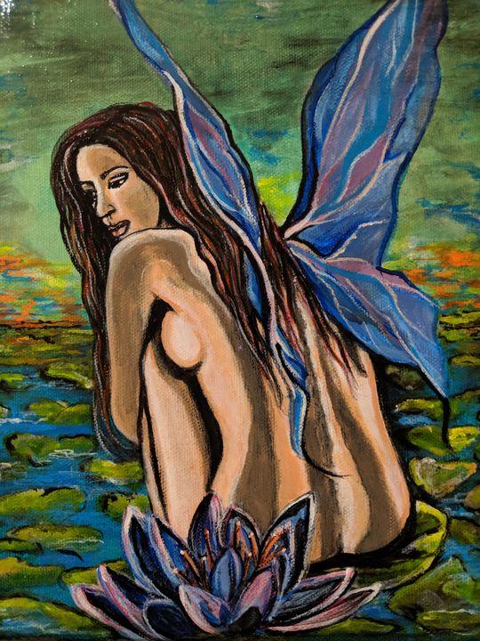 Lotus Fairy - Carolyne J Wilkie