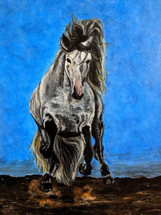 Desert horse - Carolyne J Wilkie