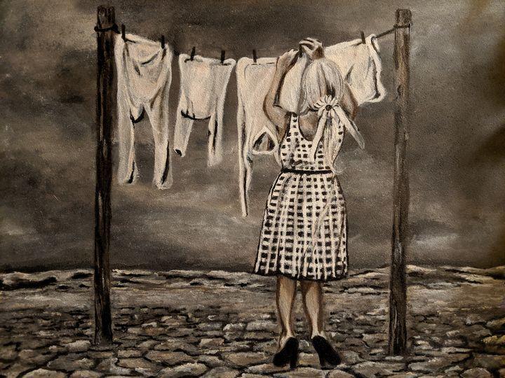 Laundry day - Carolyne J Wilkie