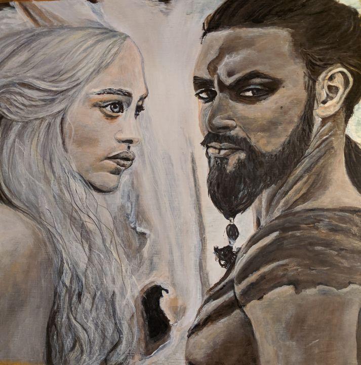 Daenerys & Khal Drogo - Carolyne J Wilkie