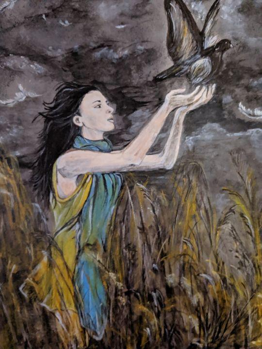 Free as a bird - Carolyne J Wilkie
