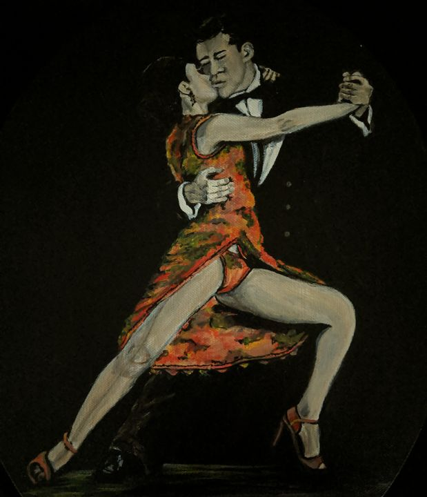Passionate dance - Carolyne J Wilkie