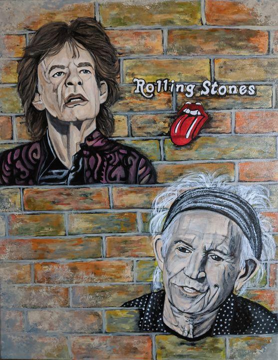 Rolling Stones - Carolyne J Wilkie