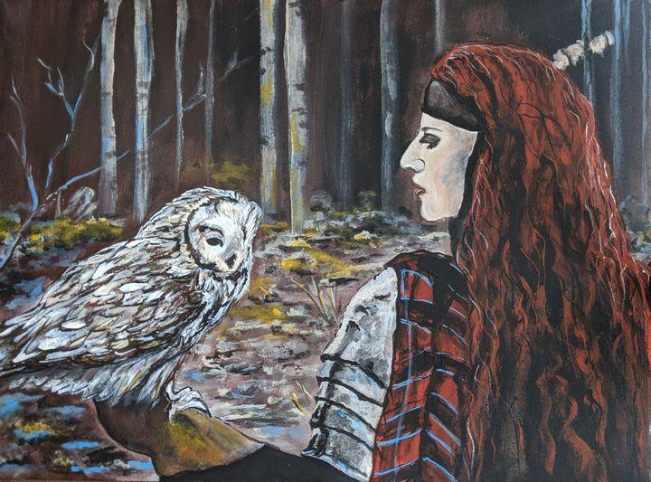Owl whisperer - Carolyne J Wilkie