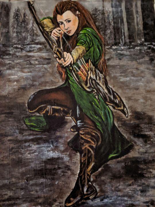 Forest Elf - Carolyne J Wilkie