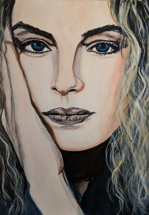 The beautiful Nina Hoss - Carolyne J Wilkie