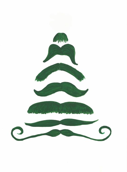 Oh, Mustache Tree - Melly Luna Designs