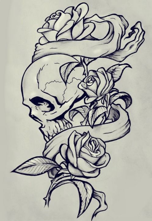 Roses Bring Beauty Even To Death. - My Digital Artworks