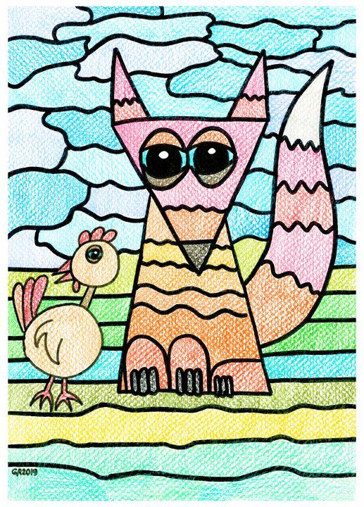 Weird Animals 2: Striped Fox - GvRStudios