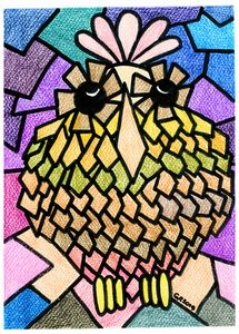 Weird Animals 4: Pinecone Owl 2