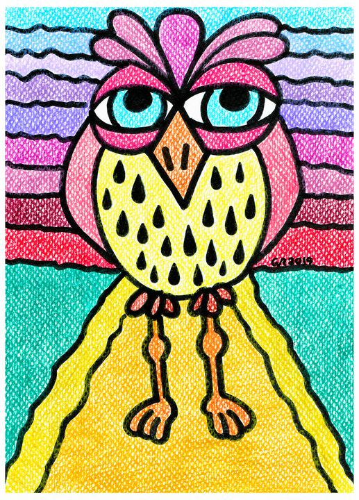 Weird Animals 6: Pinecone Owl 4 - GvRStudios