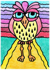 Weird Animals 6: Pinecone Owl 4