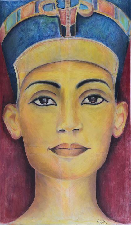 Nefertiti - Fabio Maria portrait