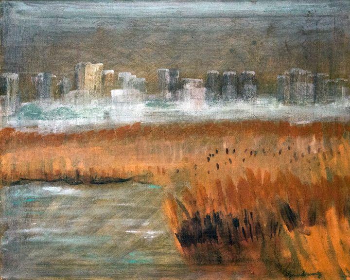 CityScape - Lynn Beverly Schwartz