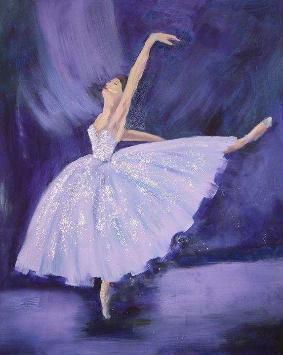 Violet Dancer - Janelle Rogols