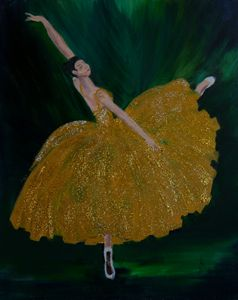 Golden Ballerina