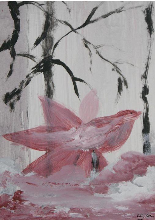 Acrylic 345 Redbird - Libbys Art Projects
