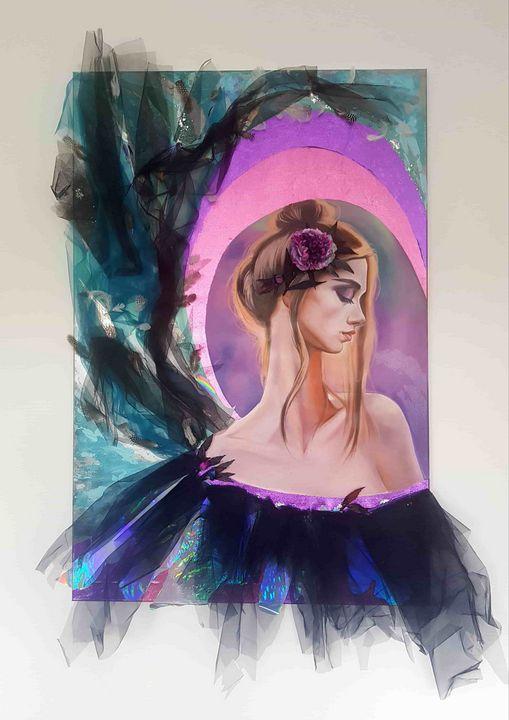 Angel of Tenderness - ONLINE ART GALLERY