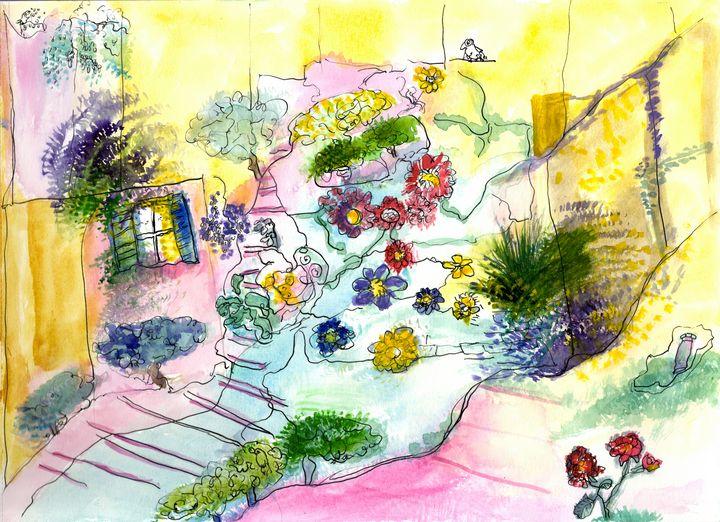 Flower path - Galerie VUE