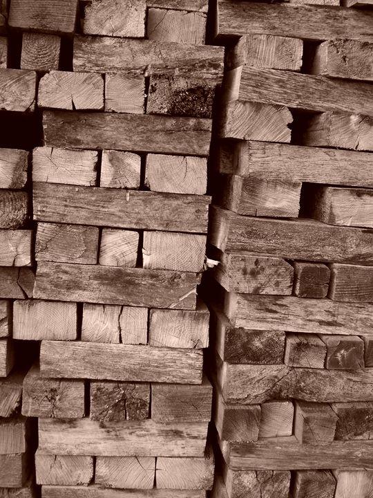 Wood Stacks - Rebecca Ledford
