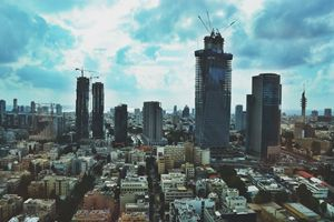 Tel Aviv Google Headquarters View