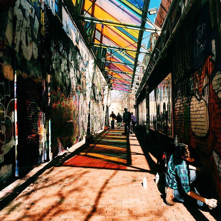Cambridge Graffitti - Amanda Chaplin