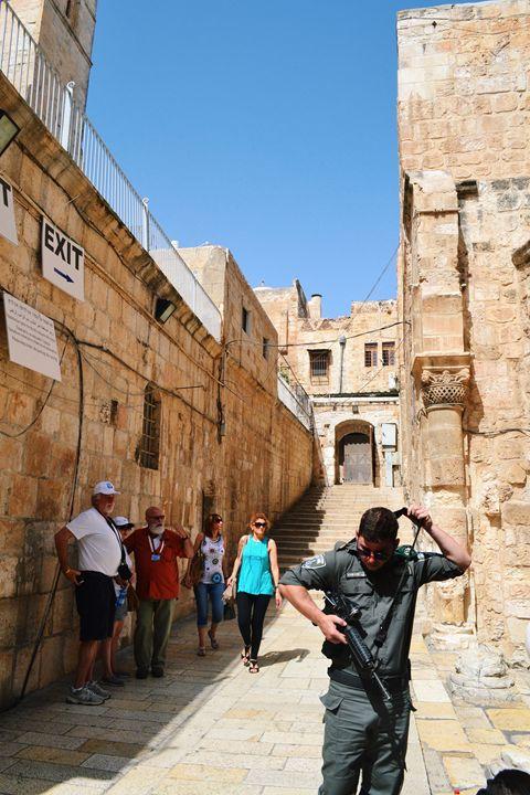 Jerusalem Old City - Amanda Chaplin