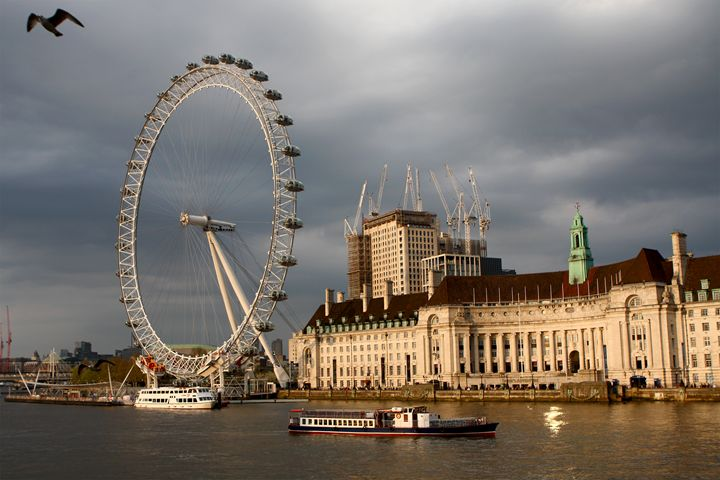 The London Eye On The South Bank - Aidan Moran Photography