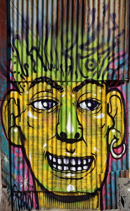 Corrugated Iron Man - Aidan Moran Photography