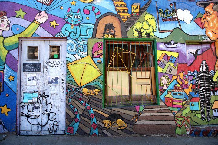 Valparaiso Street Art 23 - Aidan Moran Photography