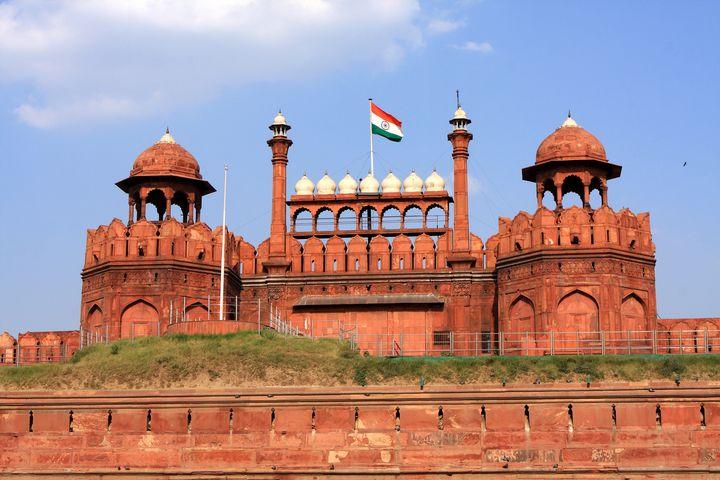Red Fort New Delhi - Aidan Moran Photography
