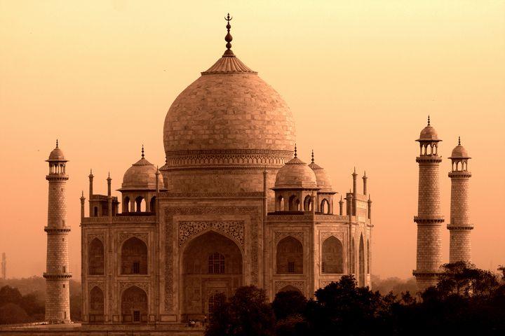 Taj Mahal - Aidan Moran Photography